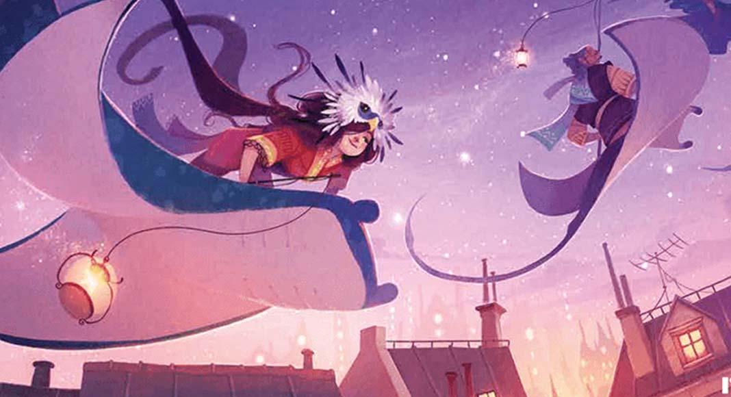 Detalle de la portada de Stella Dixit Universe
