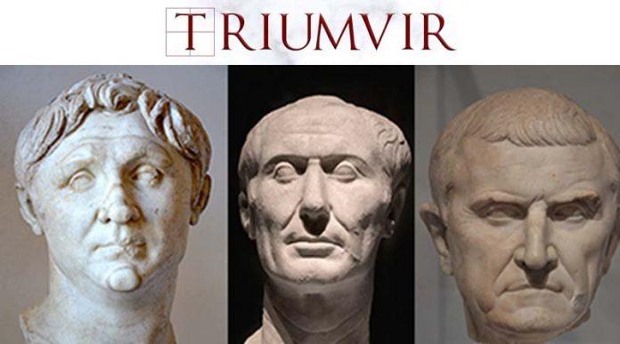 Logo de Triumvir