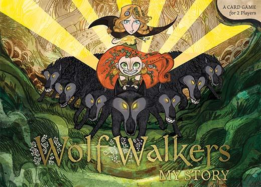 Portada de Wolfwalkers my story