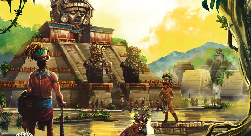 Detalle de la portada de Zapotec