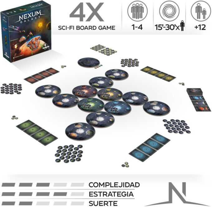 componentes Nexum galaxy