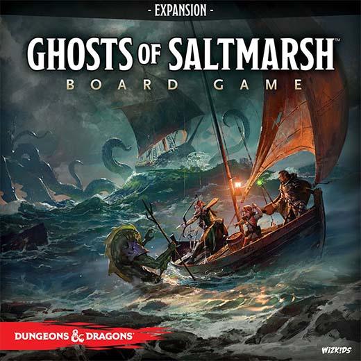 Portada de Ghosts of Saltmarsh the board game