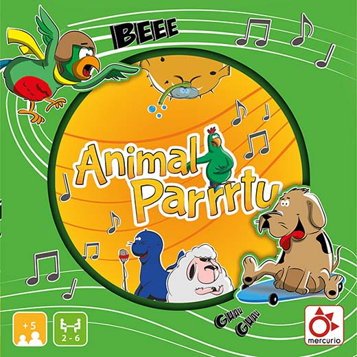 Portada de animal Party