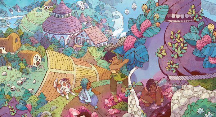 Detalle de la portada de Artisans of Splendent Vale