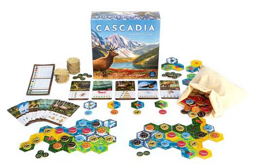 Componentes definitivos de Cascadia