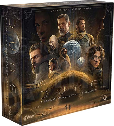 Portada de Dune A Game of Conquest and Diplomacy