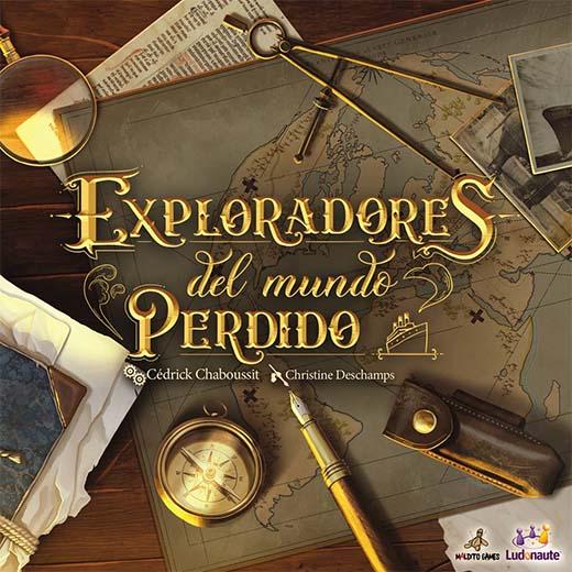 Portada de Exploradores del mundo perdido