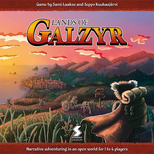 Portada de Lands of Galzyr