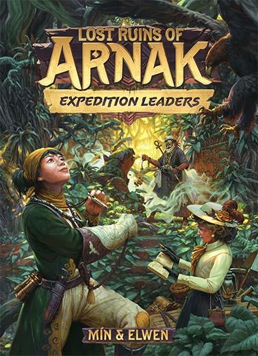 Portada de la expansión de las ruinas perdidas de Arnak Expedition Leaders
