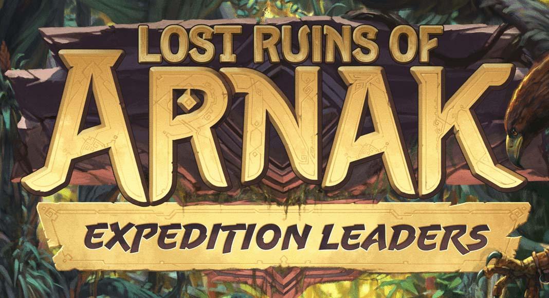 Logotipo de la expansión de las ruinas perdidas de arnak Expedition Leaders