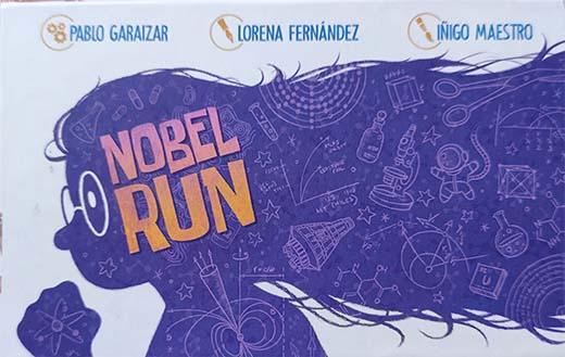 Portada de Nobel Run