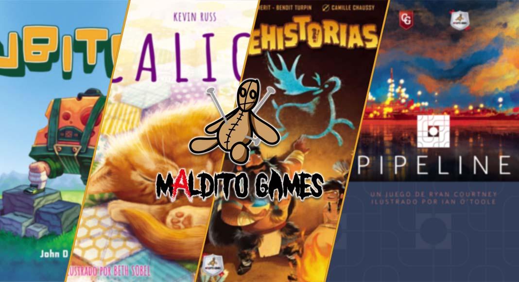 Las Novedades de Maldito Games para julio de 2021
