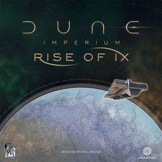 Portada de la expansión para Dune: Imperium Rise of Ix