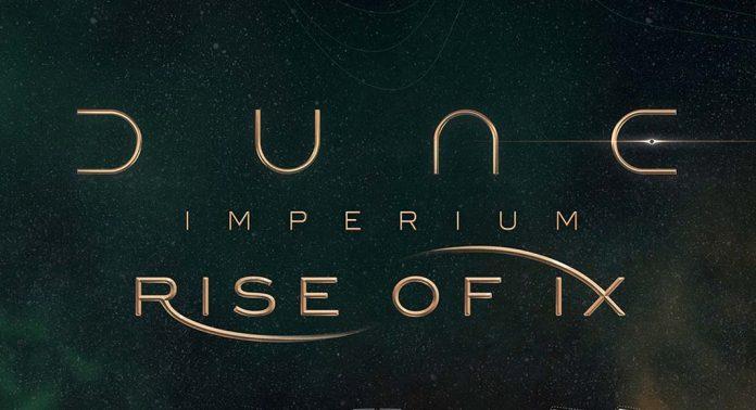 Logotipo de la expansión para Dune: Imperium Rise of Ix