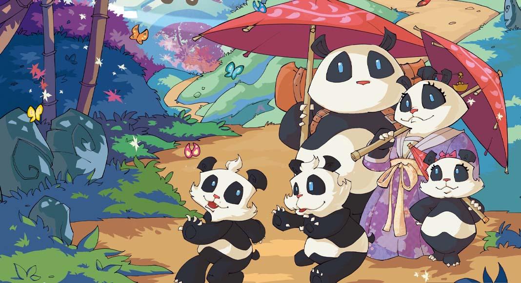 Detalle de la portada de Takenoko Big box