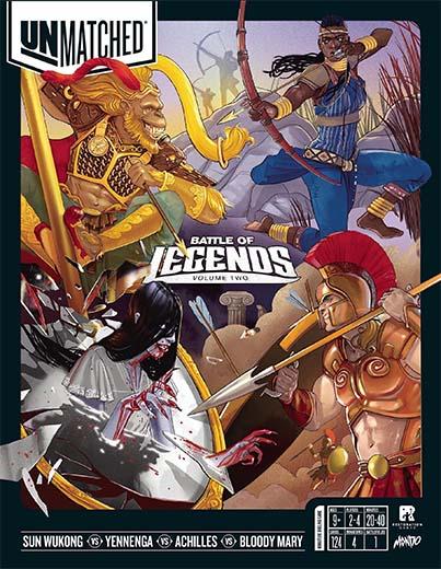 Portada de Unmatched Battle of Legends Volumen 2