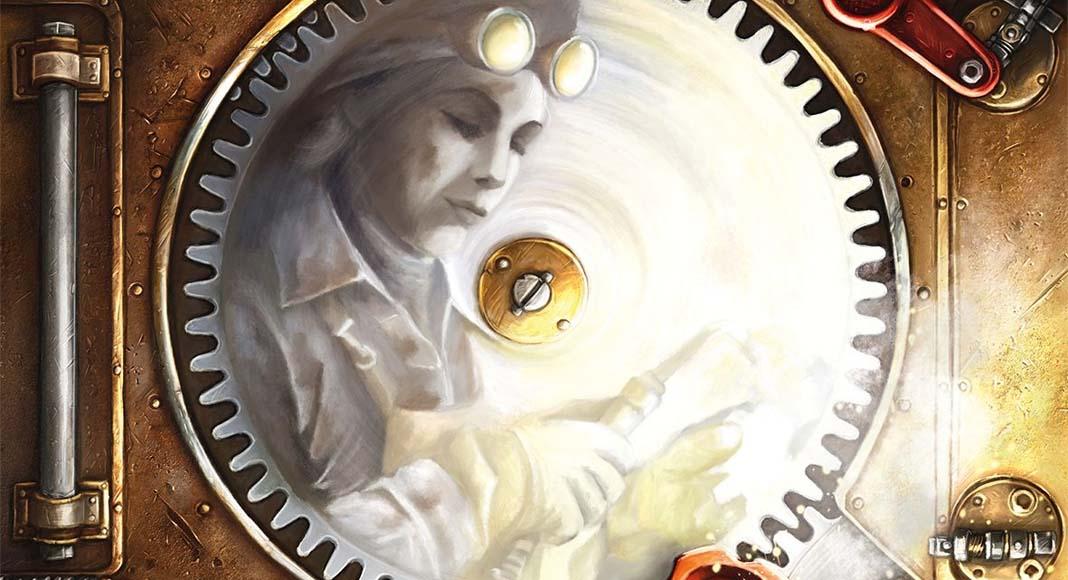 Detalle de la portada del juego de tablero corrosion