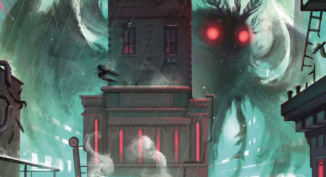 Detalle de la portada de Cryptid Urban Legends