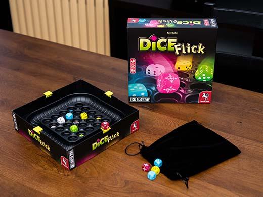 Componentes de Dice Flick