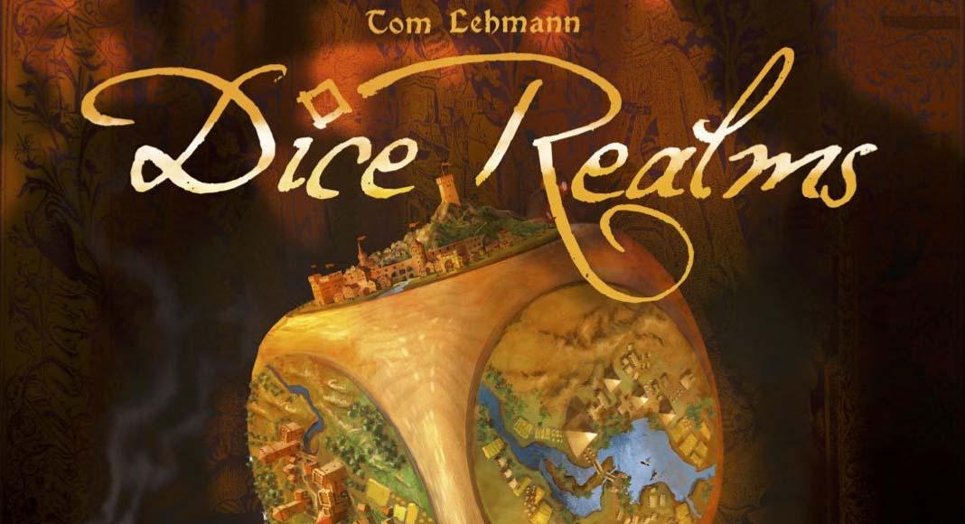 Detalle e la portada de Dice Realms