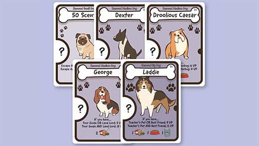 Cartas de Dog Lover