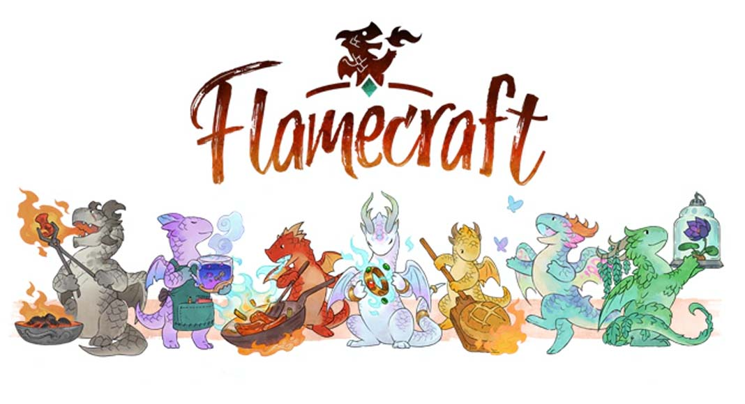 Logotipo de Flamecraft