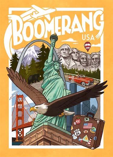 Portada de Boomerang USA