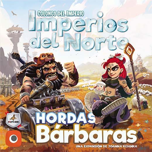 Portada de Imperios del norte Hordas Bárbaras
