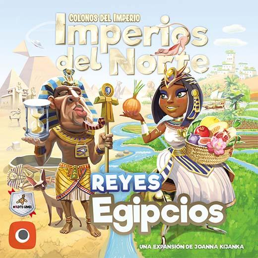 Portada de Imperios del Norte Reyes egipcios