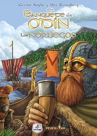 Portada de El Banquete de Odín: Los Noruegos