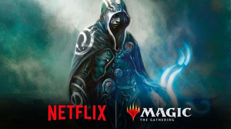 Serie animada de Magic The Gathering en Netflix