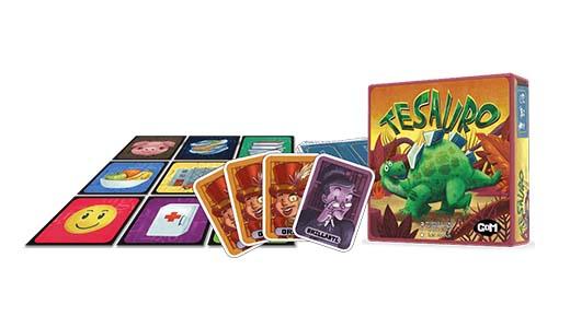 Componentes del juego de tablero tesauro