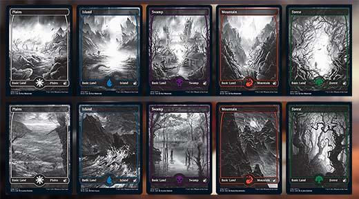 Nuevas cartas de tierra de de Innistrad Midnight Hunt