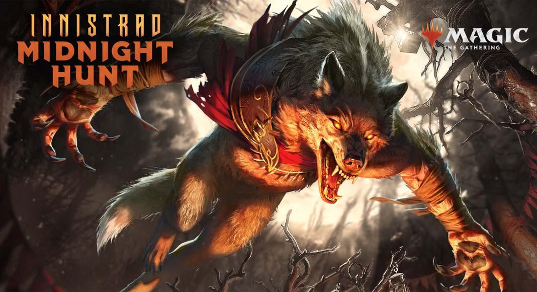 Imagen promocional e de Innistrad Midnight Hunt