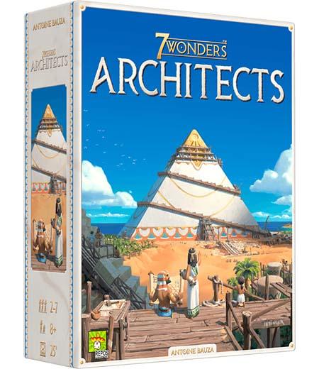 Portada de 7 wonders architects