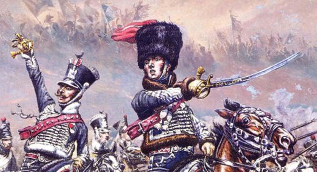 Ilustración de la portada de Commands and Colors Napoleonics
