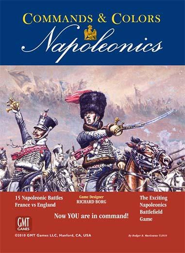 Portada de Commands and colors Napoleonics