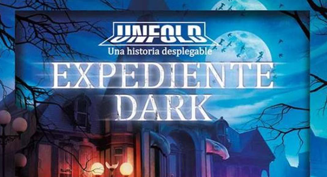 Logotipo de Expediente Dark