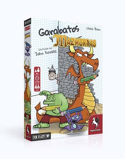 Portada de Garabatos y Mazmorras