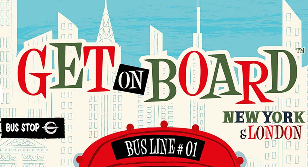 Logotipo de Get on Board New York and London