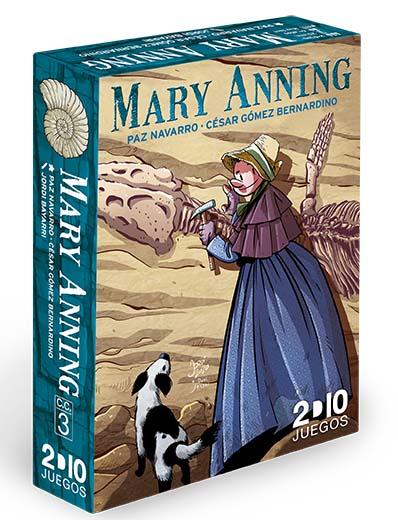 Portada del juego de mesa Mary Anning