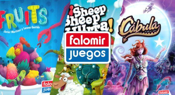 Las novedades de Falomir Juegos para el 4º trimestre de 2021