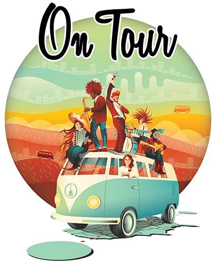 Portada de On Tour