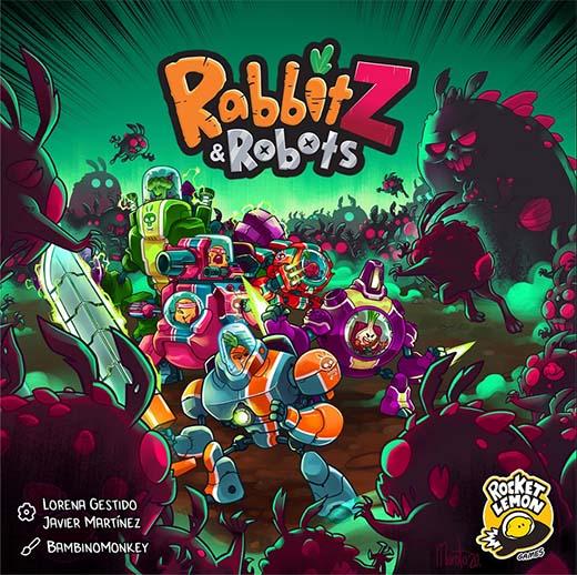 Portada de RabbitZ and Robots