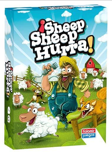Portada de ¡Sheep Sheep Hurra!