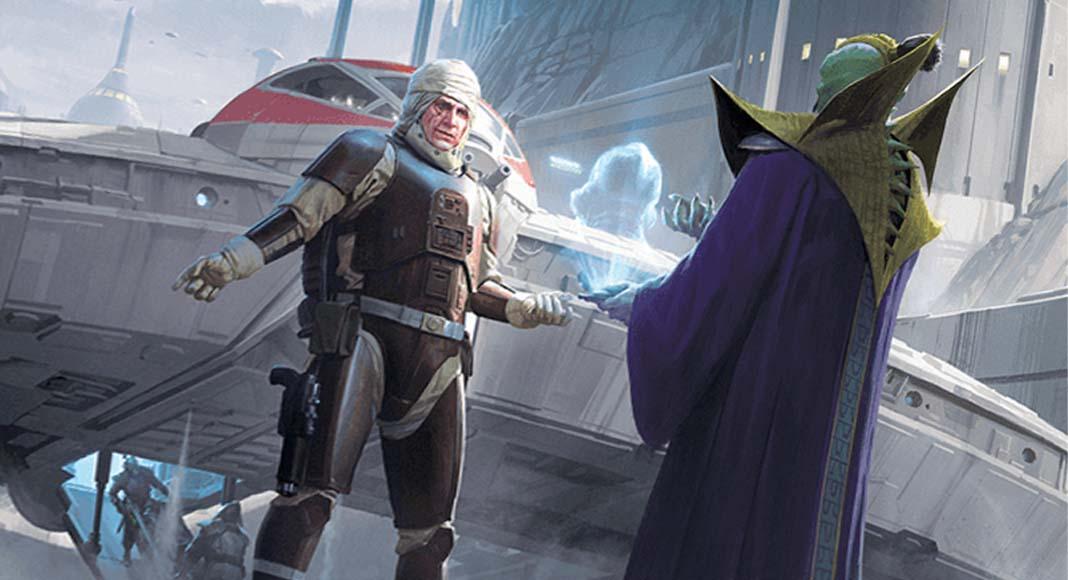Detalle de la portada de Star Wars: Outer Rim – Unfinished Business