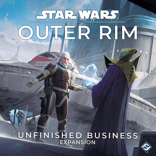 Portada de Star Wars: Outer Rim – Unfinished Business
