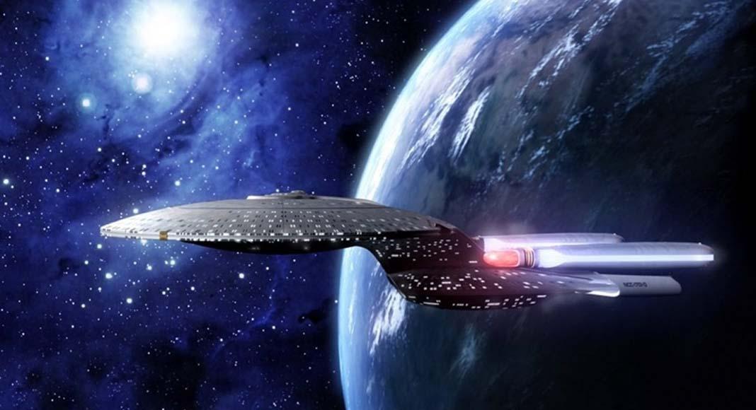 la Nave Enterprise de Star Trek New Generation