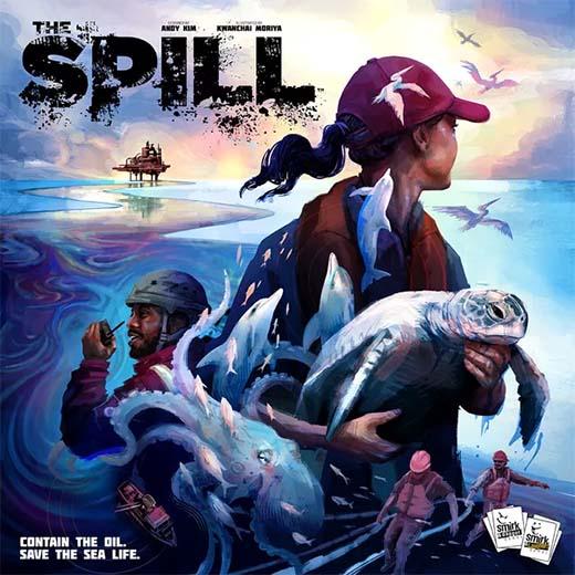 Portada de The Spill