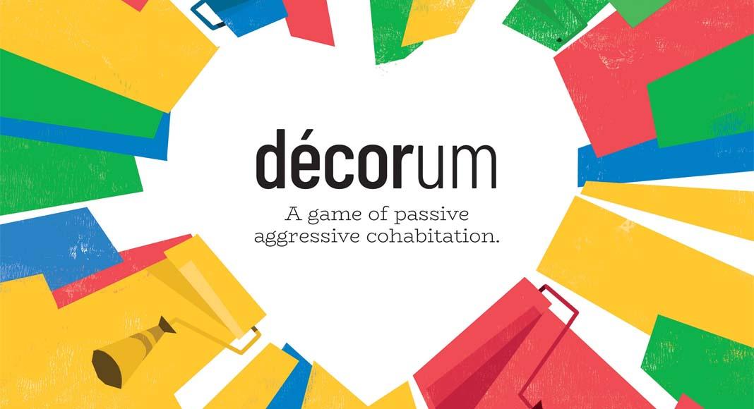 Detalle de la portada de Décorum